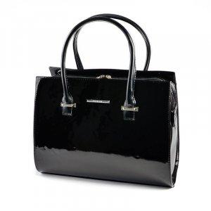 Жіноча ділова сумка М123-Z лак 41820132a2d7f